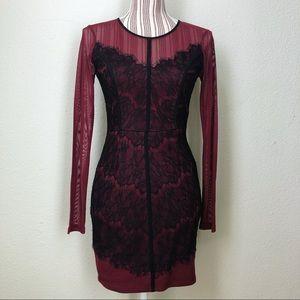 Lush Lace Detail Dress